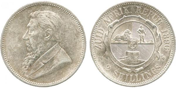 1 Florin Sudáfrica Plata Paul Kruger (1825 - 1904)