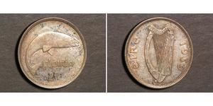 1 Florin Ireland (1922 - ) Silver