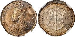 1 Florin South Africa Silver George V of the United Kingdom (1865-1936)