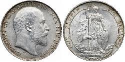 1 Florin United Kingdom of Great Britain and Ireland (1801-1922) Silver Edward VII (1841-1910)