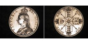 1 Florin United Kingdom of Great Britain and Ireland (1801-1922) Silver Victoria (1819 - 1901)