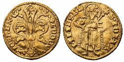 1 Florin / 1 Goldgulden Königreich Ungarn (1000-1918) Gold