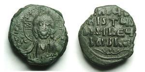 1 Follis 拜占庭帝国 青铜 君士坦丁八世 (1028 - 1025)