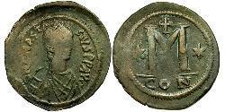 1 Follis Imperio bizantino (330-1453) Bronce Anastasio I (430-518)