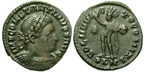 1 Follis Imperio romano (27BC-395) Bronce Constantino I (272 - 337)