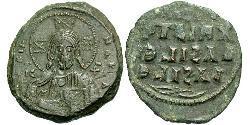 1 Follis Byzantinisches Reich (330-1453) Bronze Konstantin VIII (960-1028)