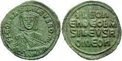 1 Follis Byzantinisches Reich (330-1453) Bronze Leo VI Wise (866-912)