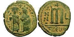 1 Follis Empire byzantin (330-1453) Bronze Phocas(?-610)