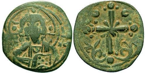 1 Follis Empire byzantin (330-1453) Bronze Nicéphore III Botaniatès (1020-1081)