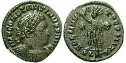 1 Follis Empire romain (27BC-395) Bronze Constantin I (272 - 337)