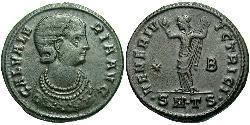 1 Follis Roman Empire (27BC-395) Bronze Galeria Valeria (?-315)