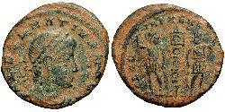 1 Follis / 1 AE3 Imperio romano (27BC-395) Bronce Dalmacio (?-337)