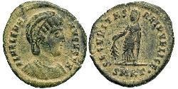 1 Follis / 1 AE3 Römische Kaiserzeit (27BC-395) Bronze Flavia Iulia Helena (250 -330)