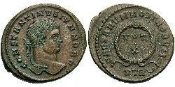 1 Follis / 1 AE3 Römische Kaiserzeit (27BC-395) Bronze Constantius II(317 - 361)
