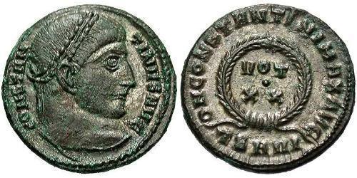 1 Follis / 1 AE3 Roman Empire (27BC-395) Bronze Constantine I (272 - 337)