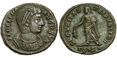 1 Follis / 1 AE3 Roman Empire (27BC-395) Bronze Helena Augusta (250 -330)