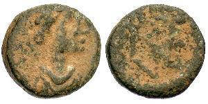 1 Follis / 1 AE4 Byzantine Empire (330-1453) Bronze Leo the Thracian (401-474)