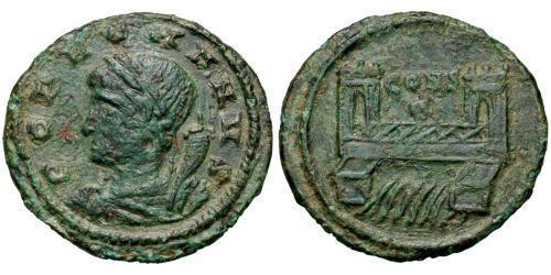 1 Follis / 1 AE4 Römische Kaiserzeit (27BC-395) Bronze