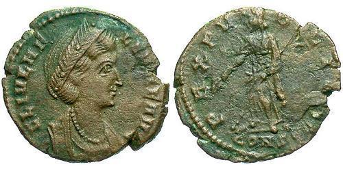 1 Follis / 1 AE4 Roman Empire (27BC-395) Bronze Helena Augusta (250 -330)