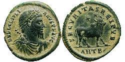 1 Follis /  AE1 羅馬帝國 青铜 尤利安