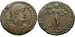 1 Follis /  AE1 Römische Kaiserzeit (27BC-395) Bronze Valentinian I (321-375)