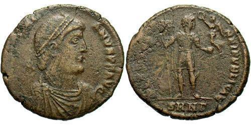 1 Follis /  AE1 Roman Empire (27BC-395) Bronze Valentinian I  (321-375)