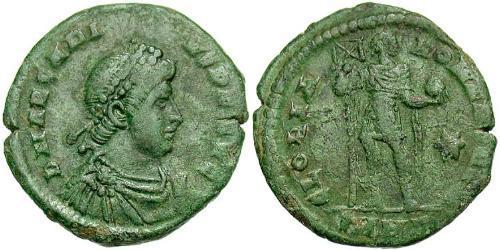1 Follis /  AE2 Byzantine Empire (330-1453) Bronze Arcadius (377-408)