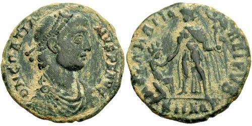 1 Follis /  AE2 Empire romain d