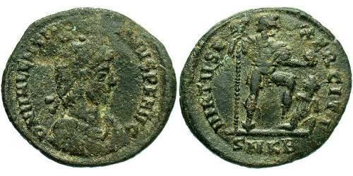 1 Follis /  AE2 Roman Empire (27BC-395) Bronze Valentinian II (371-392)