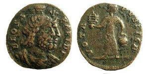1 Follis /  AE3 República romana (509BC-27BC) Bronce