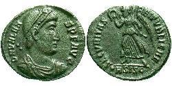1 Follis /  AE3 Byzantinisches Reich (330-1453) Bronze Valens (328-378)