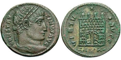 1 Follis /  AE3 Römische Kaiserzeit (27BC-395) Bronze Konstantin I (272 - 337)
