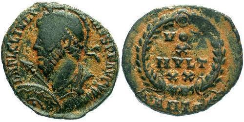 1 Follis /  AE3 Roman Empire (27BC-395) Bronze Julian the Apostate (331-363)