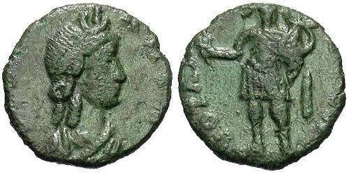 1 Follis /  AE4 Roman Republic (509BC-27BC) Bronze