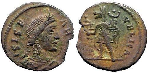 1 Follis /  AE4 Roman Republic (509BC-27BC) Bronze