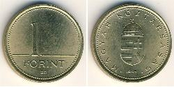 1 Forint Hungary (1989 - ) Copper/Nickel