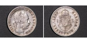 1 Forint Austria-Hungary (1867-1918) Silver Franz Joseph I (1830 - 1916)