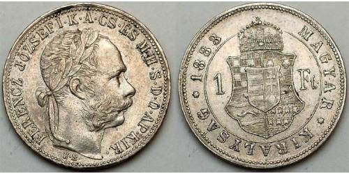 1 Forint Austria-Hungary (1867-1918)  Franz Joseph I (1830 - 1916)
