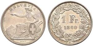 1 Franc Svizzera Argento