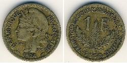 1 Franc Togo Bronzo
