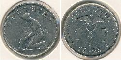 1 Franc Belgium Copper/Nickel