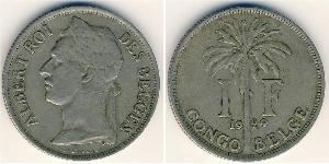 1 Franc  Níquel/Cobre