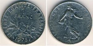 1 Franc Francia Rame/Argento/Nichel