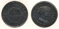 1 Franc  Silver