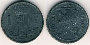 1 Franc Bélgica Zinc