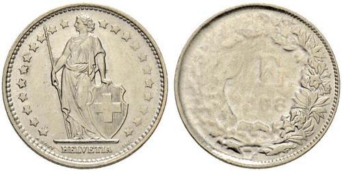1 Franc Suiza