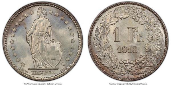 1 Franc Svizzera