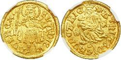 1 Goldgulden Королiвство Угорщина (1000-1918) Золото Matthias Corvinus of Hungary  (1443 -1490)