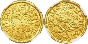 1 Goldgulden 匈牙利王国 金 Matthias Corvinus of Hungary  (1443 -1490)