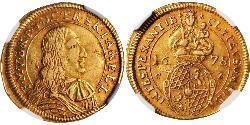 1 Goldgulden Electorate of Bavaria (1623 - 1806) Gold Ferdinand Maria, Elector of Bavaria (1636 – 1679)